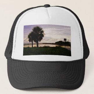 Sanibel at Dusk Trucker Hat