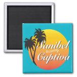 Sanibel Captiva Islands Florida 2 Inch Square Magnet