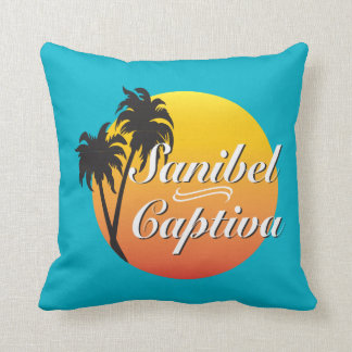 Sanibel Captiva Islands Florida Throw Pillow