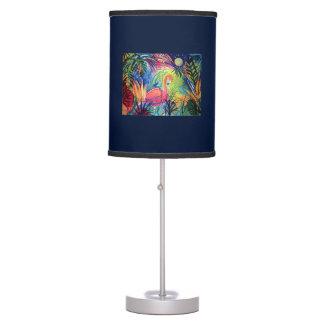 Sanibel Flamingo Moon Desk Lamp