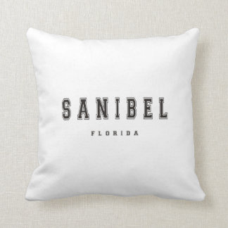 Sanibel Florida Throw Pillow