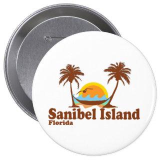 Sanibel Island. Button