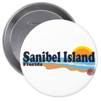 Sanibel Island. Pinback Buttons
