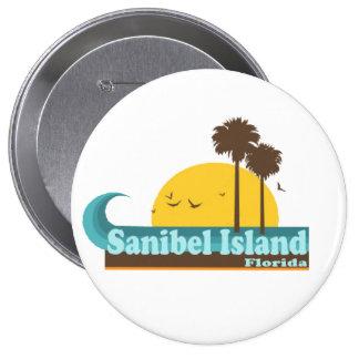 Sanibel Island. Pinback Button