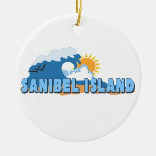 Sanibel Island. Ceramic Ornament