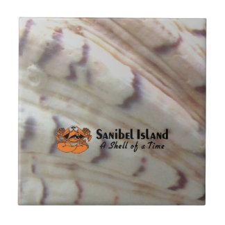 Sanibel Island Crab Tile