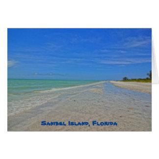 Sanibel Island Florida - Gulf of Mexico Shoreline Card
