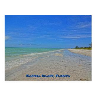 Sanibel Island Florida - Gulf of Mexico Shoreline Postcard
