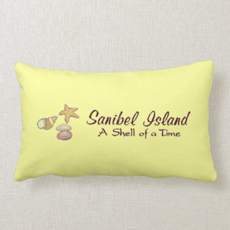 Sanibel Island, Florida Shells Lumbar Pillow
