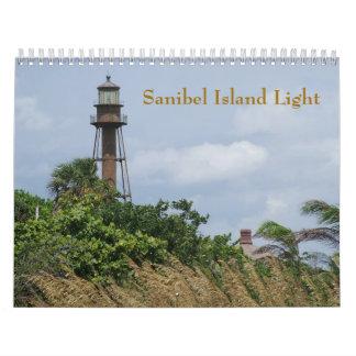 Sanibel Island Light Calendar