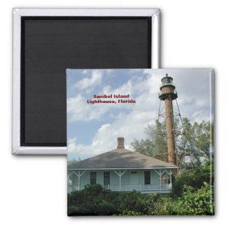 Sanibel Island Lighthouse Fl Refrigerator Magnet