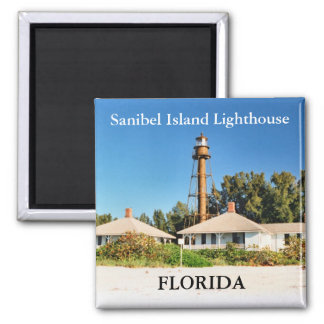 Sanibel Island Lighthouse, Florida Magnet