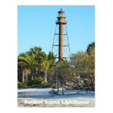 Sanibel Island Lighthouse - Florida Postcard at Zazzle