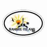 Sanibel Island. Photo Cut Outs
