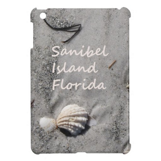 Sanibel Island Sand Shells Case For The iPad Mini