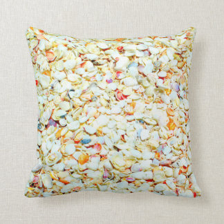 Sanibel Island Seashell Beach Pillow