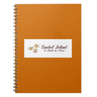 Sanibel Island Shells Spiral Notebooks