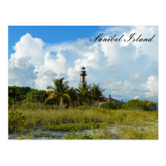 Sanibel Lighthouse Beach Postcard