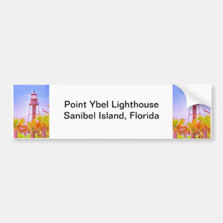 Sanibel Lighthouse collection Bumper Sticker