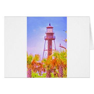 Sanibel Lighthouse collection Card