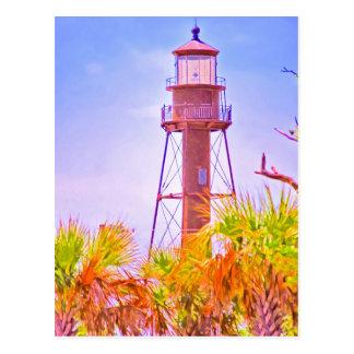 Sanibel Lighthouse collection Postcard