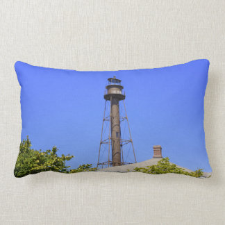 Sanibel Lighthouse Lumbar Pillow
