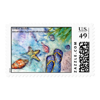 Sanibel Sandals Stamp