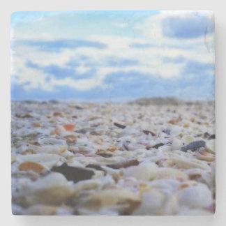 Sanibel Shells Stone Coaster