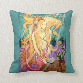 Sanibel Siren Mermaid Pillow