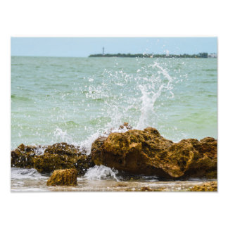 Sanibel Surf Photo Print