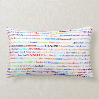 Sanibel Text Design II Lumbar Pillow
