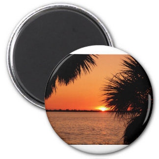 Sanibels sleeping sun fridge magnets