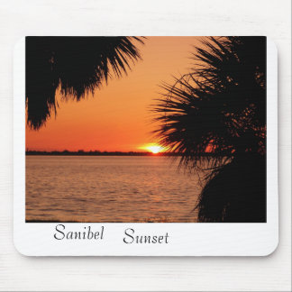 Sanibels Sleeping Sun Mouse Pad