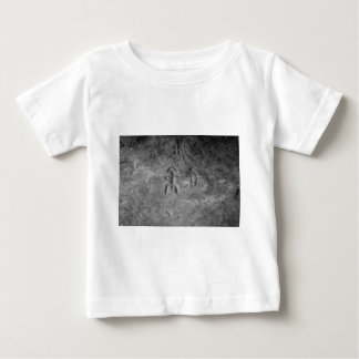 Sanilac Petroglyphs Michigan The Hunter Baby T-Shirt