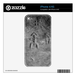 Sanilac Petroglyphs Michigan The Hunter Decals For The iPhone 4S