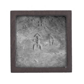 Sanilac Petroglyphs Michigan The Hunter Gift Box