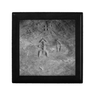 Sanilac Petroglyphs Michigan The Hunter Keepsake Box