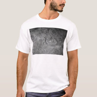 Sanilac Petroglyphs Michigan The Hunter T-Shirt
