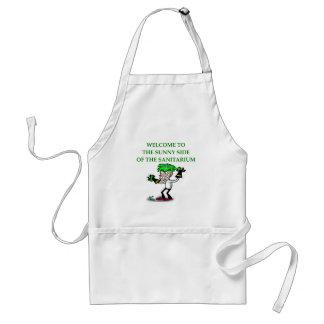 sanitarium adult apron