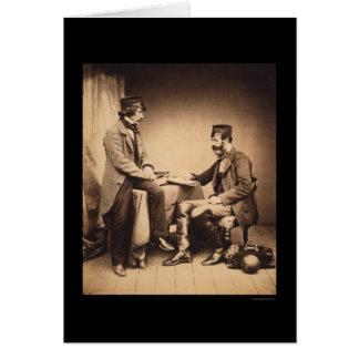 Sanitary Commission Crimean War 1855 Card