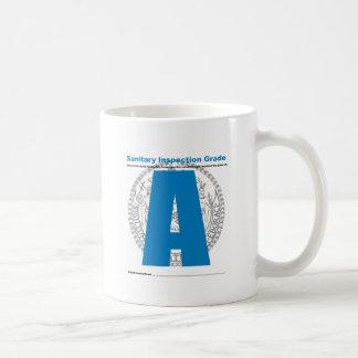 Sanitary Inspection Grade Classic White Coffee Mug