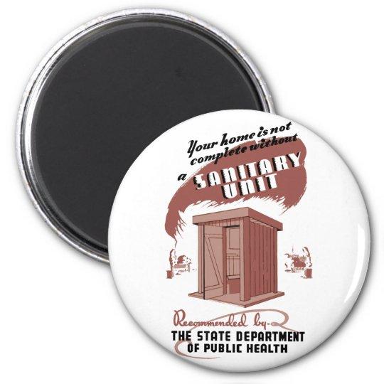 Sanitary Unit Magnet