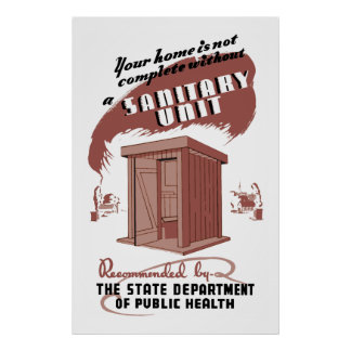 Sanitary Unit Poster