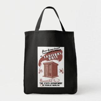 Sanitary Unit Tote Bag