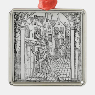 Sanitation in the Middle Ages Metal Ornament
