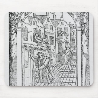 Sanitation in the Middle Ages Mouse Pad