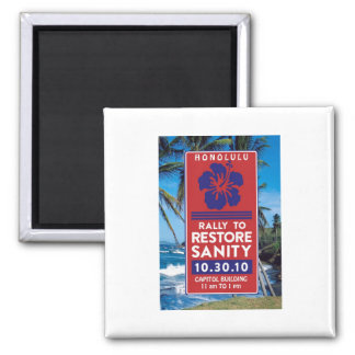 Sanity Rally Products 2 Inch Square Magnet