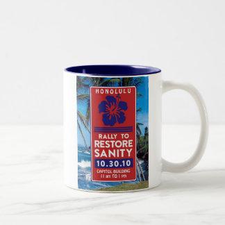 Sanity Rally Products Two-Tone Coffee Mug