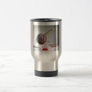 Sanity Warning Travel Mug