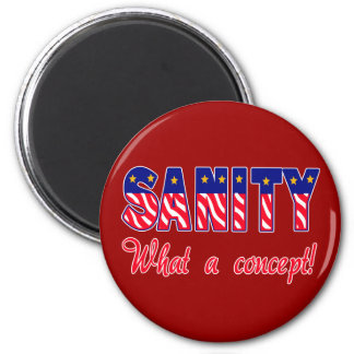 Sanity - What a Concept!  T-shirts, Caps, Sweats Magnet